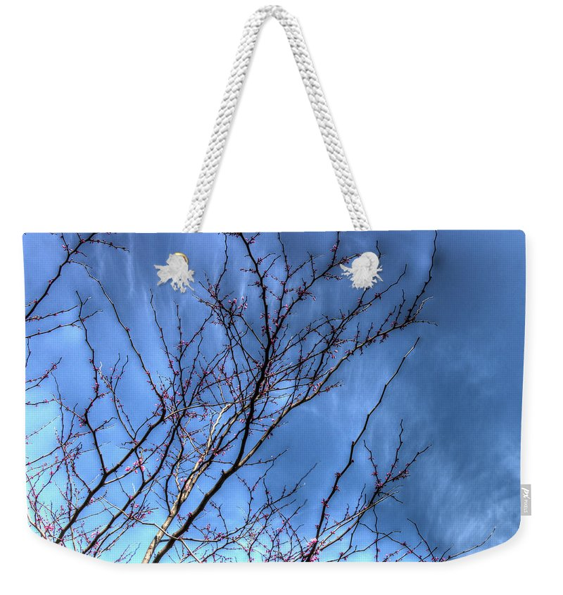 5 Weekender Tote Bag featuring the photograph Tiny Blossoms by Heidi Smith
