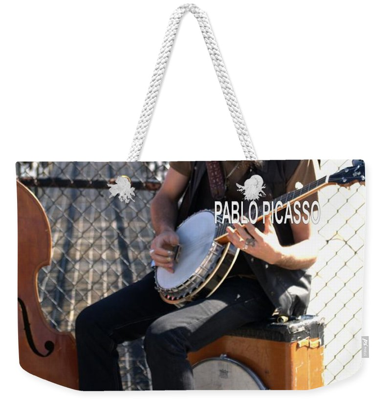 Weekender Tote Bag featuring the photograph To Be by Anthony Walker Sr