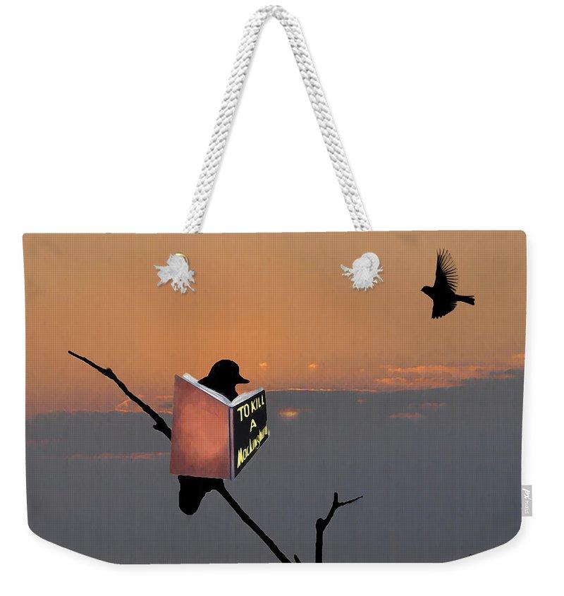 Mockingbird Photographs Weekender Tote Bags