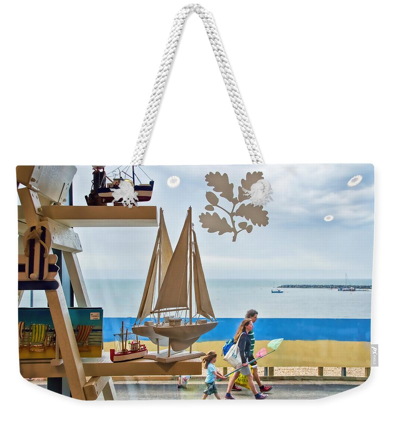 Shop Weekender Tote Bag featuring the photograph To The Beach by Susie Peek