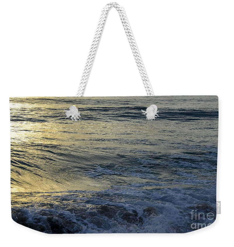 Landscapes Weekender Tote Bag featuring the photograph To The Seas by Amanda Sinco
