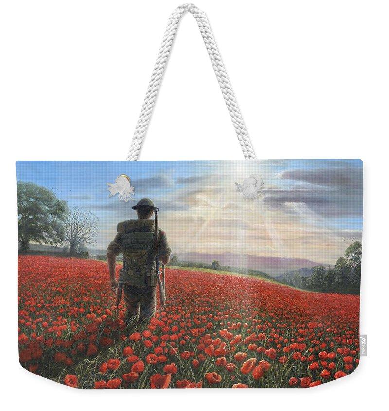 Soldier Field Weekender Tote Bags