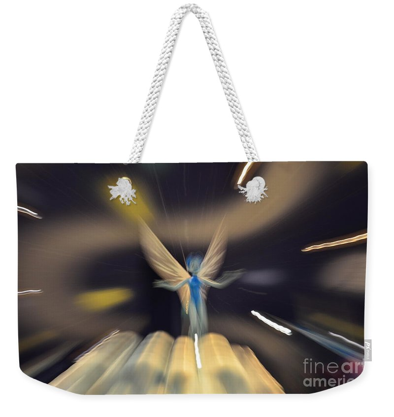 Tooth Fairy Weekender Tote Bag featuring the photograph Tooth Fairy by Randy J Heath