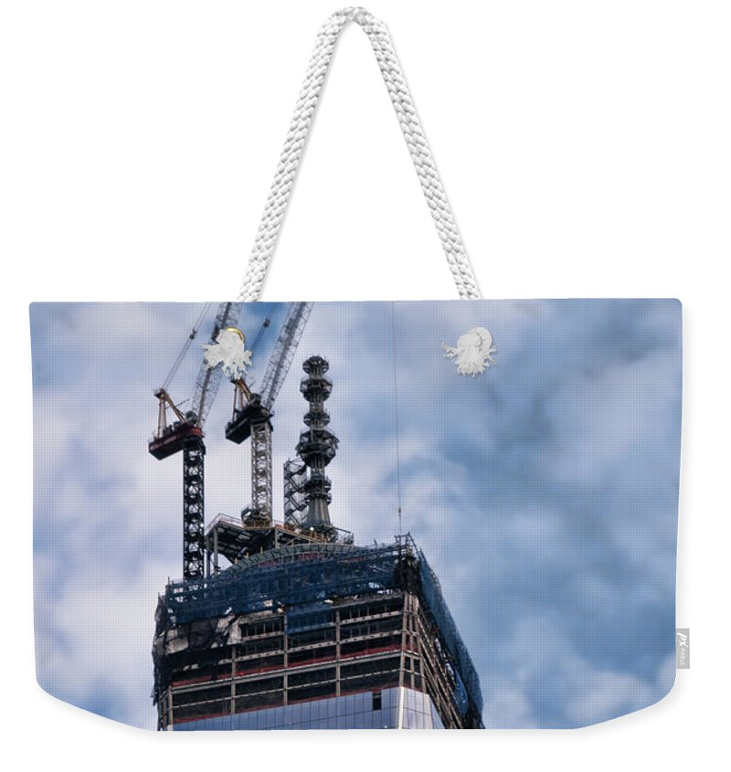 1wtc Weekender Tote Bag featuring the photograph Top Of The World by S Paul Sahm