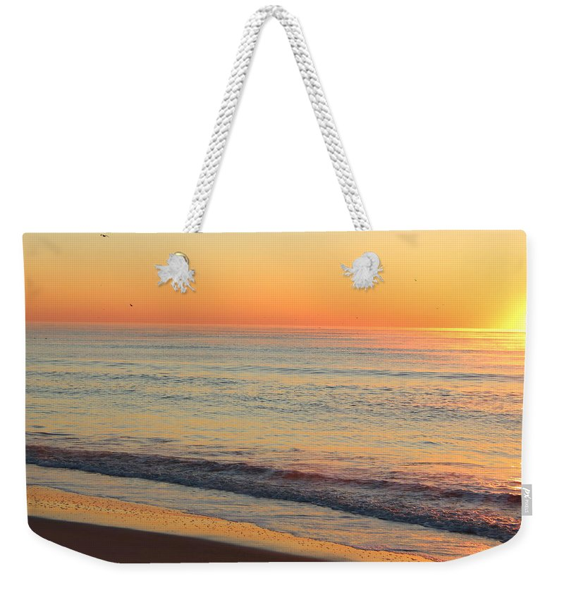 Topsail Weekender Tote Bag featuring the photograph Topsail Mist 2 by Rand Wall