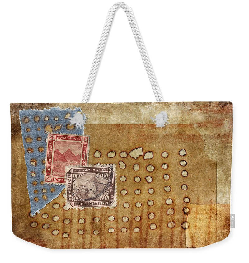 Texture Weekender Tote Bag featuring the photograph Torn And Burned by Carol Leigh