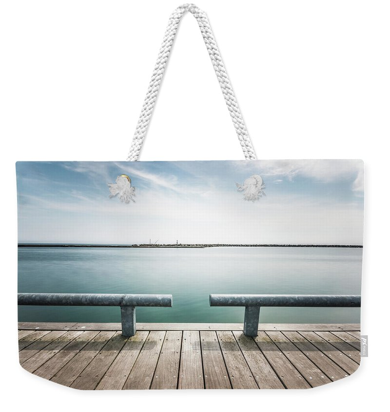 Scenics Weekender Tote Bag featuring the photograph Torontos Lakeside by Www.piotrhalka.com