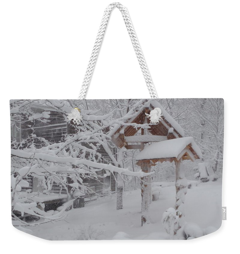 Photograph Weekender Tote Bag featuring the photograph Touch Of Color by Martin Bellmann