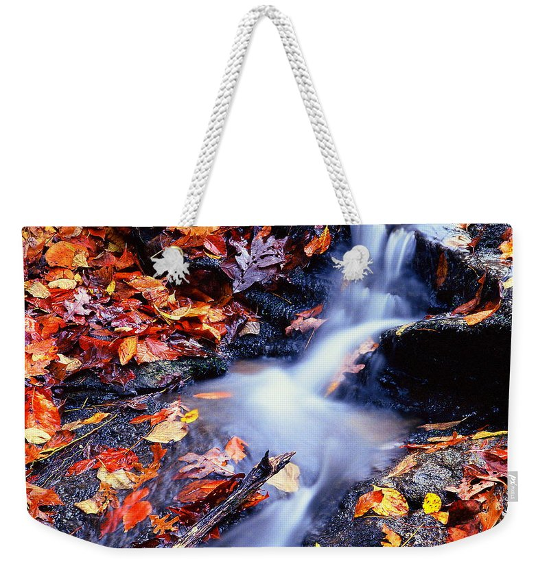 Fine Art Weekender Tote Bag featuring the photograph Traces by Rodney Lee Williams