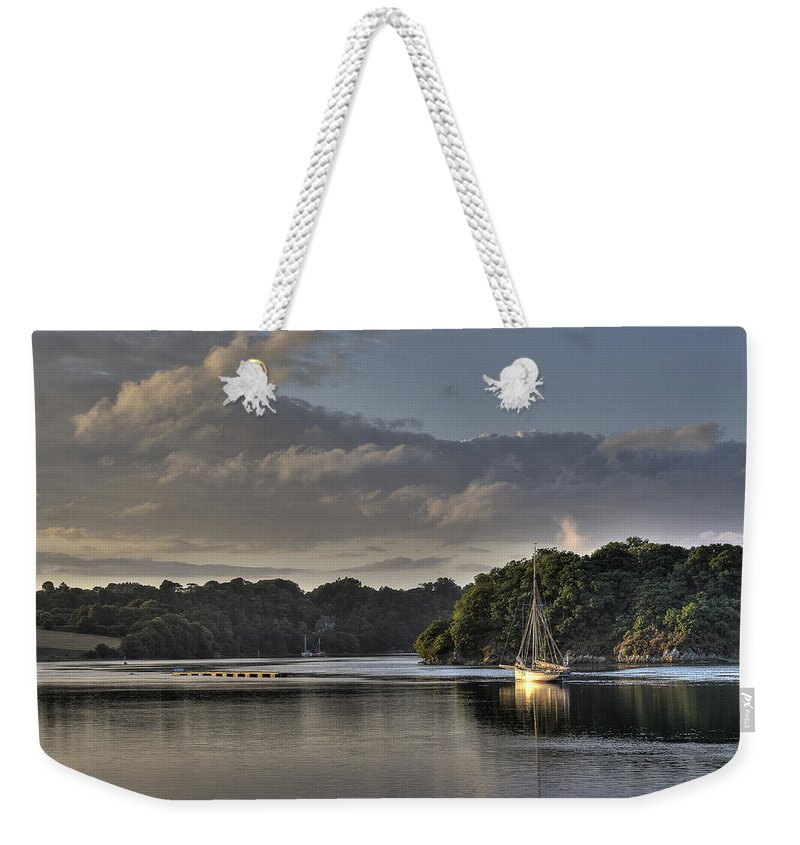 Traditional Boat Weekender Tote Bag featuring the photograph Traditional Sailing Boat by Gary Eason