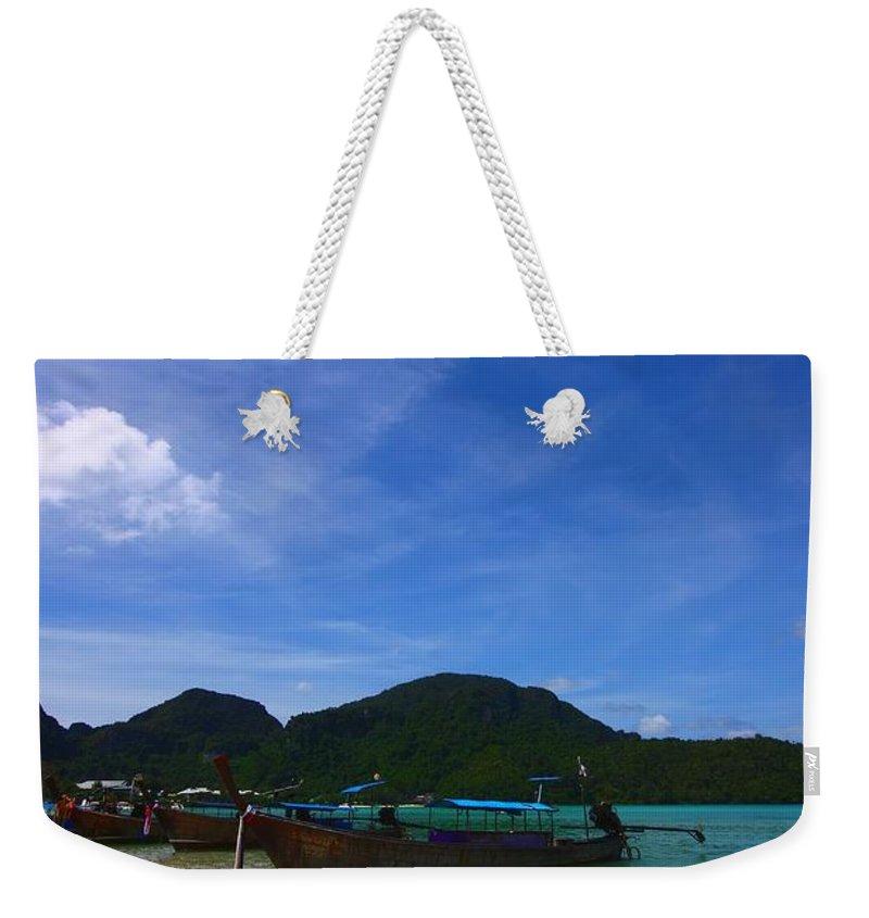 Phi Phi Island Weekender Tote Bags