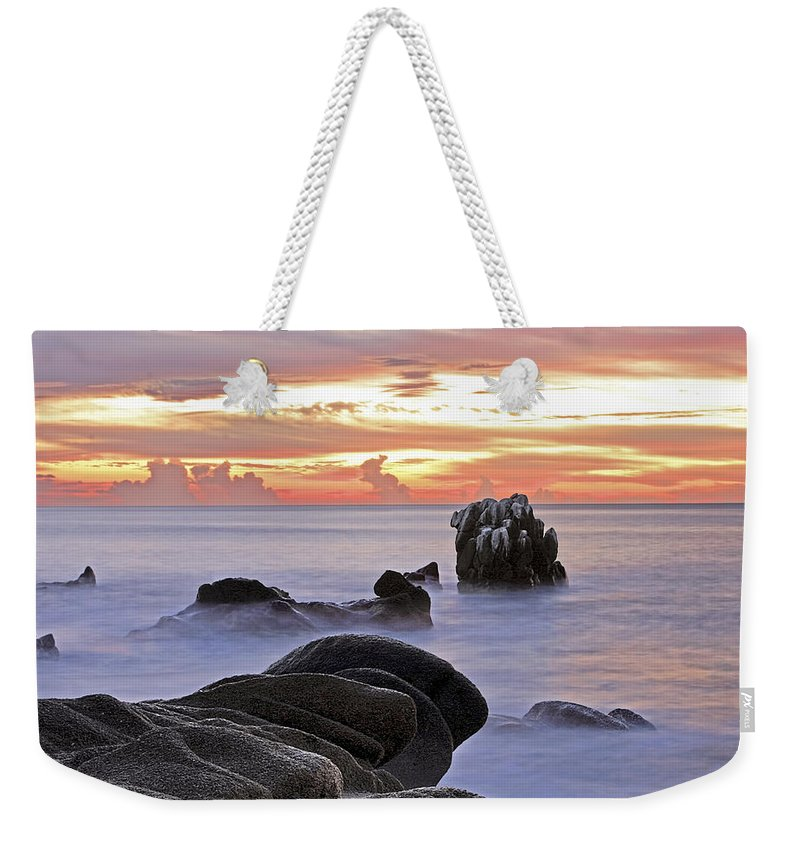 Landscape Weekender Tote Bag featuring the photograph Tranquil by Marcia Colelli
