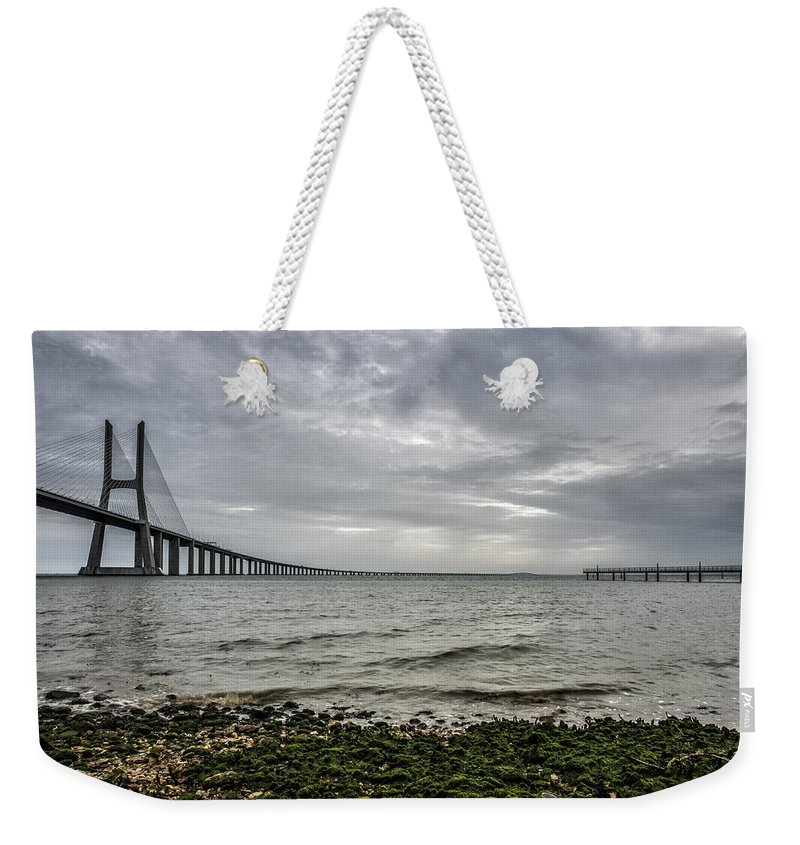 Water Weekender Tote Bag featuring the photograph Tranquility by Jose Bispo