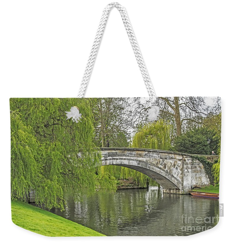 Travel Weekender Tote Bag featuring the photograph Traveling The Cam by Elvis Vaughn