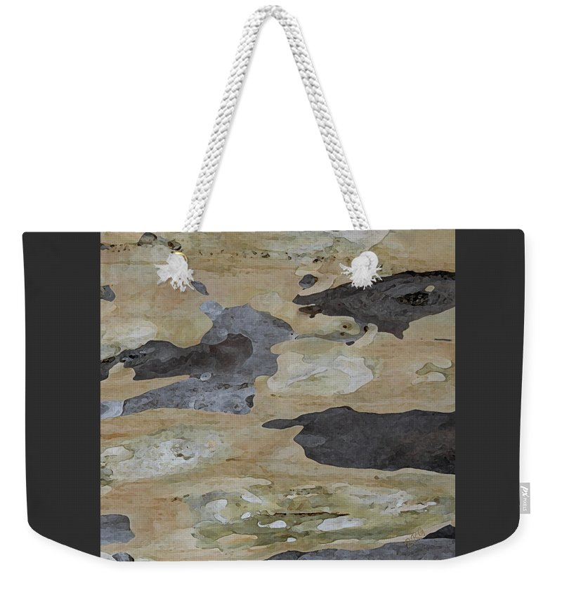 Botanical Abstract Weekender Tote Bag featuring the photograph Tree Bark II by Ben and Raisa Gertsberg