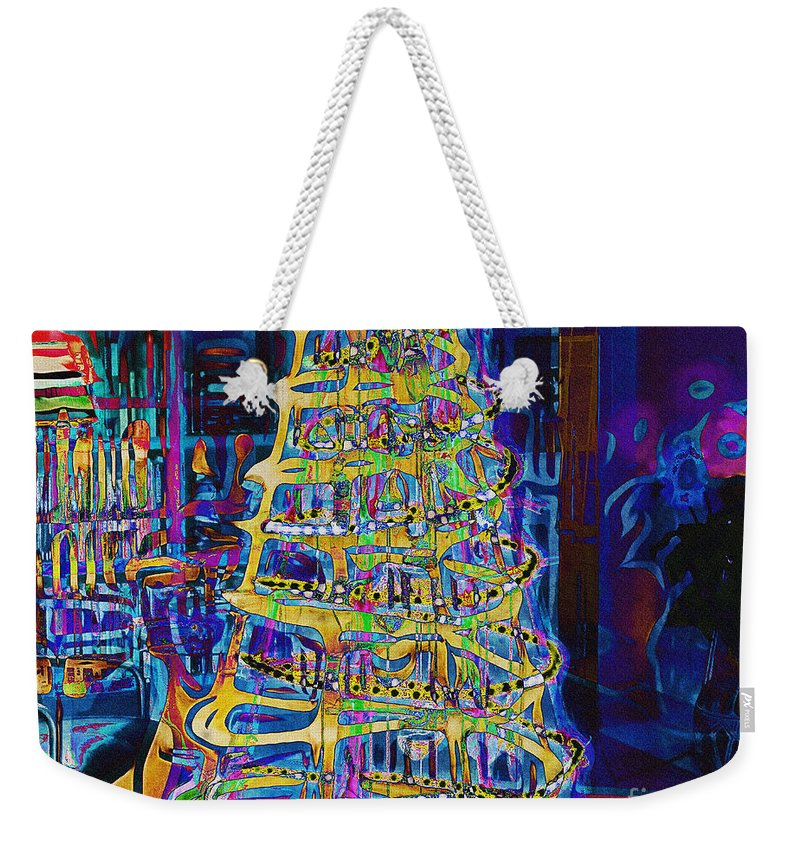 Nag004175 Weekender Tote Bag featuring the photograph Tree Of Light by Edmund Nagele
