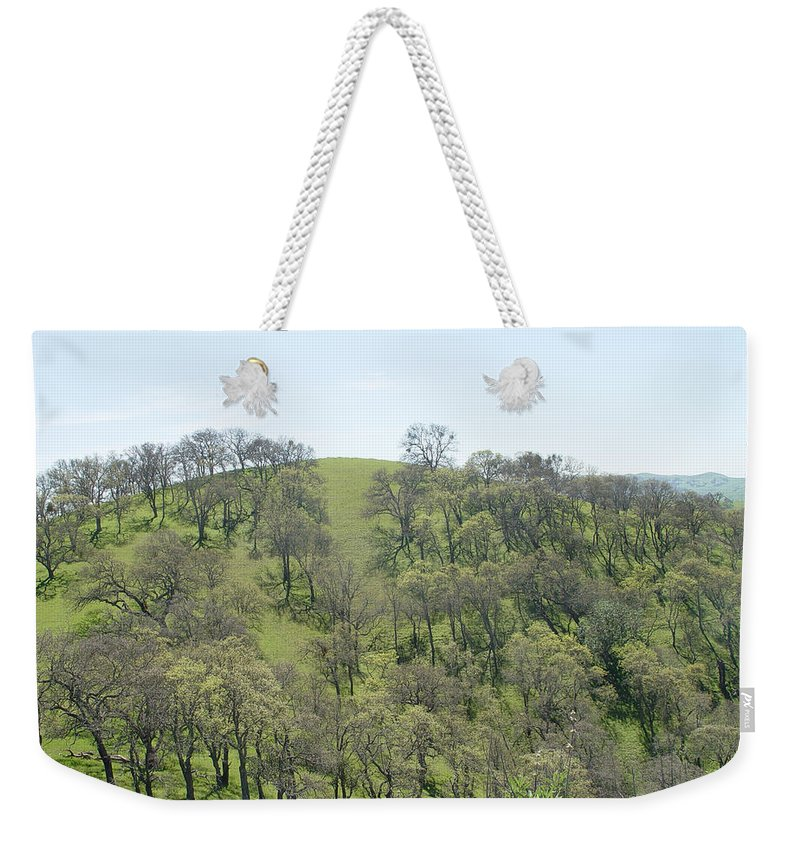 Rocks Weekender Tote Bag featuring the photograph Tree Scape by Noa Mohlabane
