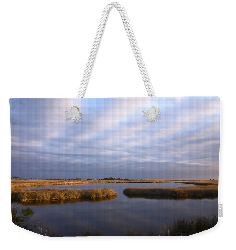 Florida Weekender Tote Bag featuring the photograph Tribute by Bill Chambers
