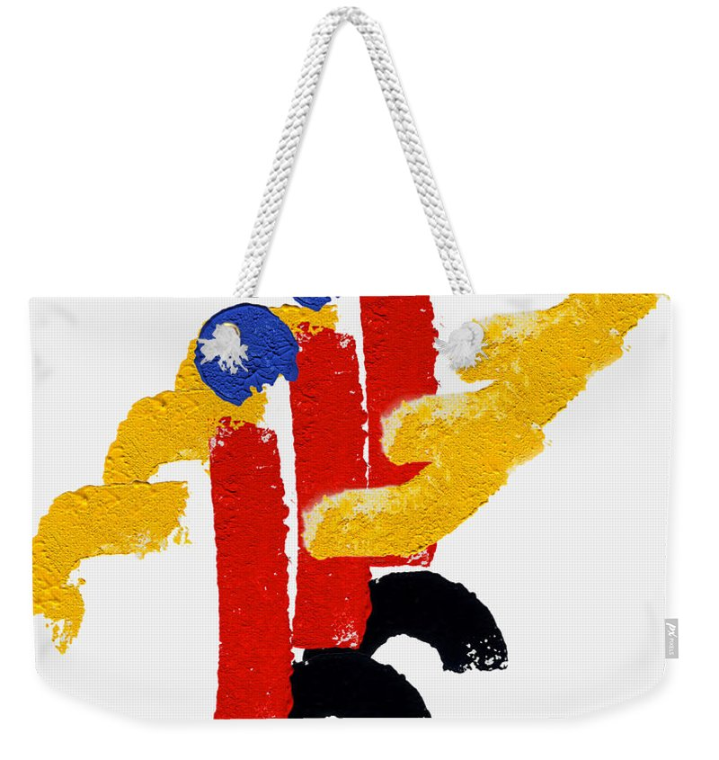Trooping Of The Color Art Weekender Tote Bag featuring the painting Trooping The Colour by Charles Stuart