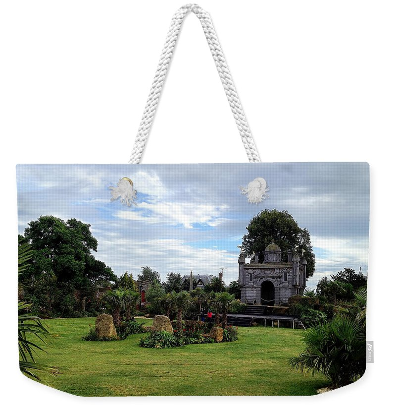 Photograph Weekender Tote Bag featuring the photograph Tropical Garden by Nicole Parks