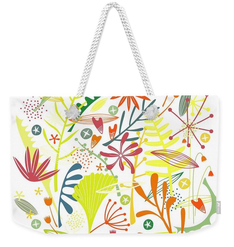 Blooms Weekender Tote Bags
