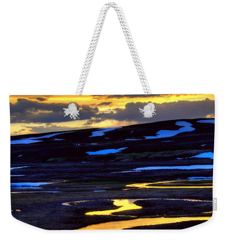 Trout Creek Weekender Tote Bag featuring the photograph Trout Creek by Steve Stuller