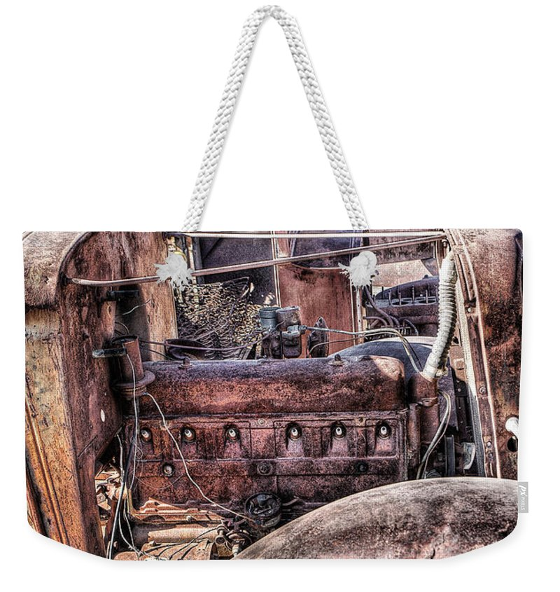 Truck Weekender Tote Bag featuring the photograph Truck 4 by Larry White