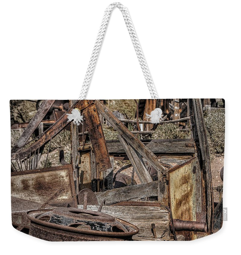 Truck Weekender Tote Bag featuring the photograph Truck 5 by Larry White