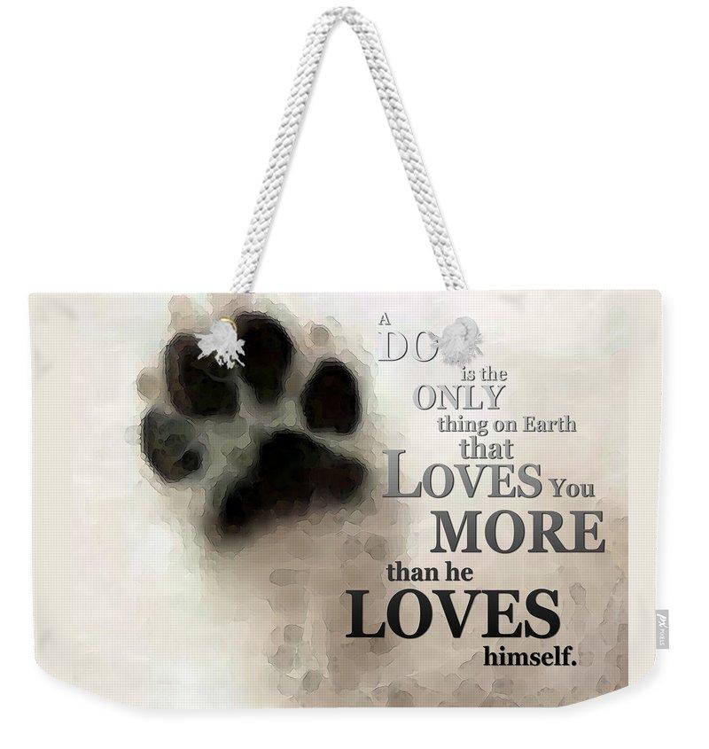 Pitbull Weekender Tote Bags