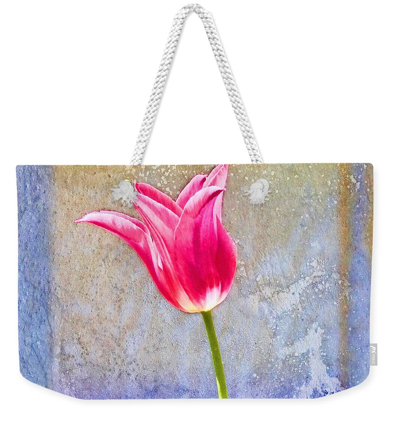 Tulip Weekender Tote Bag featuring the photograph Tulip by David Arment
