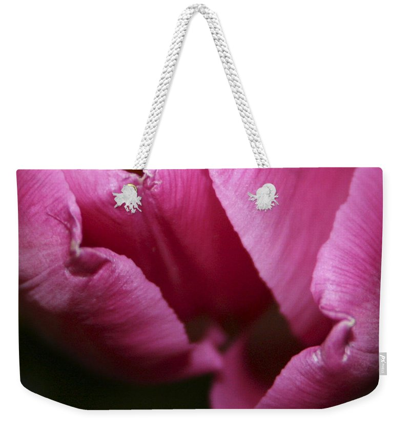 #tulip #nature Weekender Tote Bag featuring the photograph Tulip 3 by Jacquelinemari