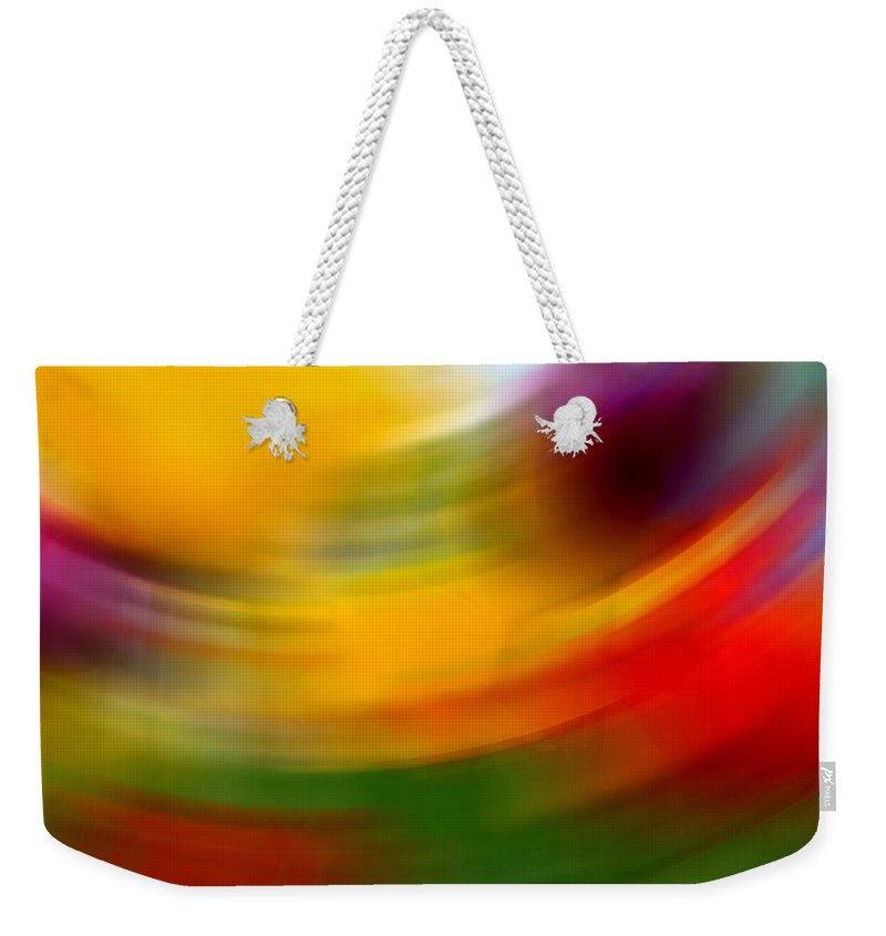 Tulips Art Weekender Tote Bag featuring the photograph Tulips by Mark Ashkenazi
