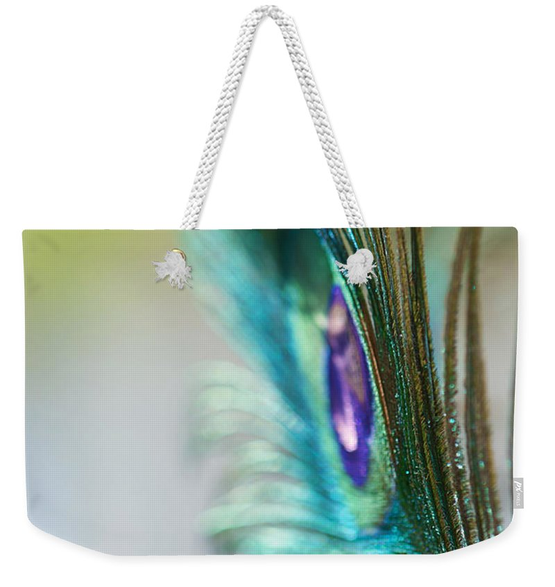 Lisa Knechtel Weekender Tote Bag featuring the photograph Turquoise In The Light by Lisa Knechtel