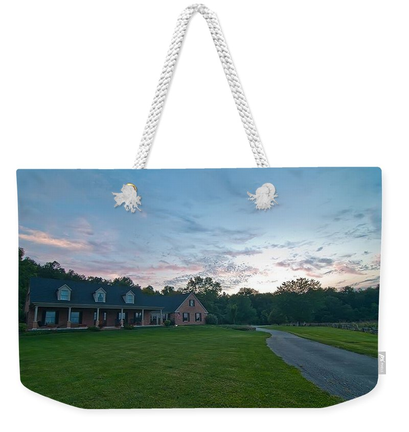 Weekender Tote Bag featuring the photograph Twenty by Randall Branham