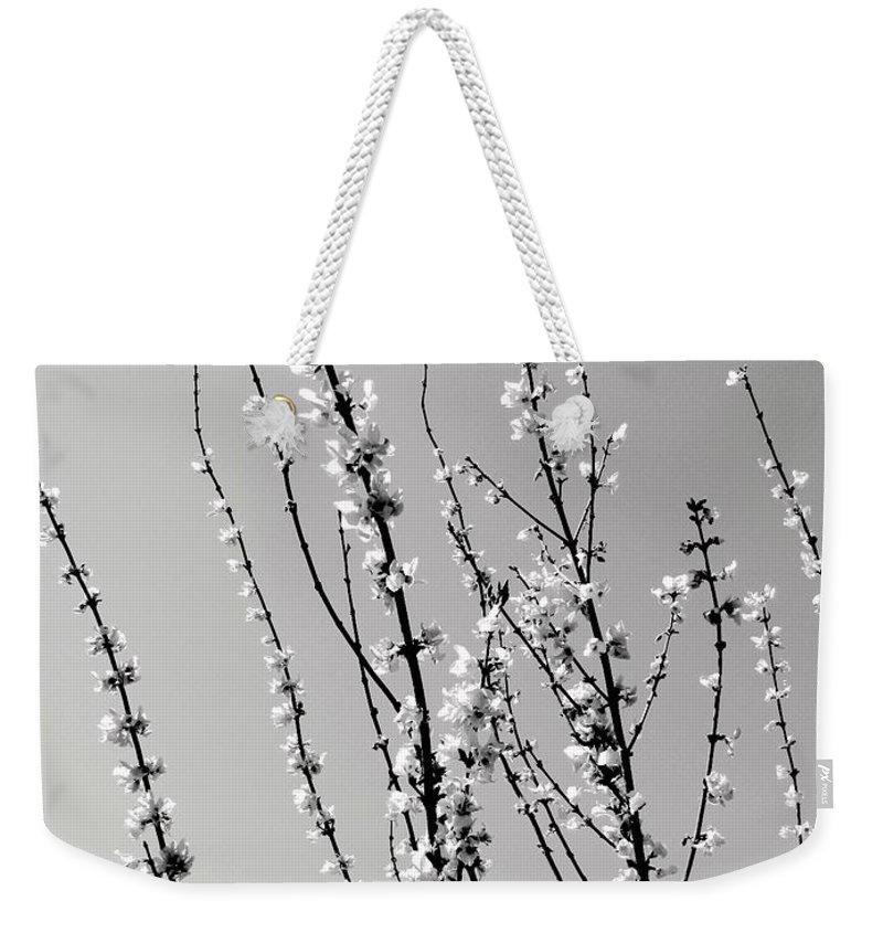 Twigs Weekender Tote Bag featuring the photograph Twigs by Deborah Crew-Johnson