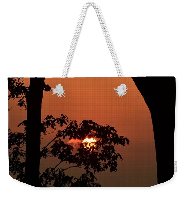 Twilight On Lookout Mountain Weekender Tote Bag featuring the photograph Twilight On Lookout Mountain by Maria Urso