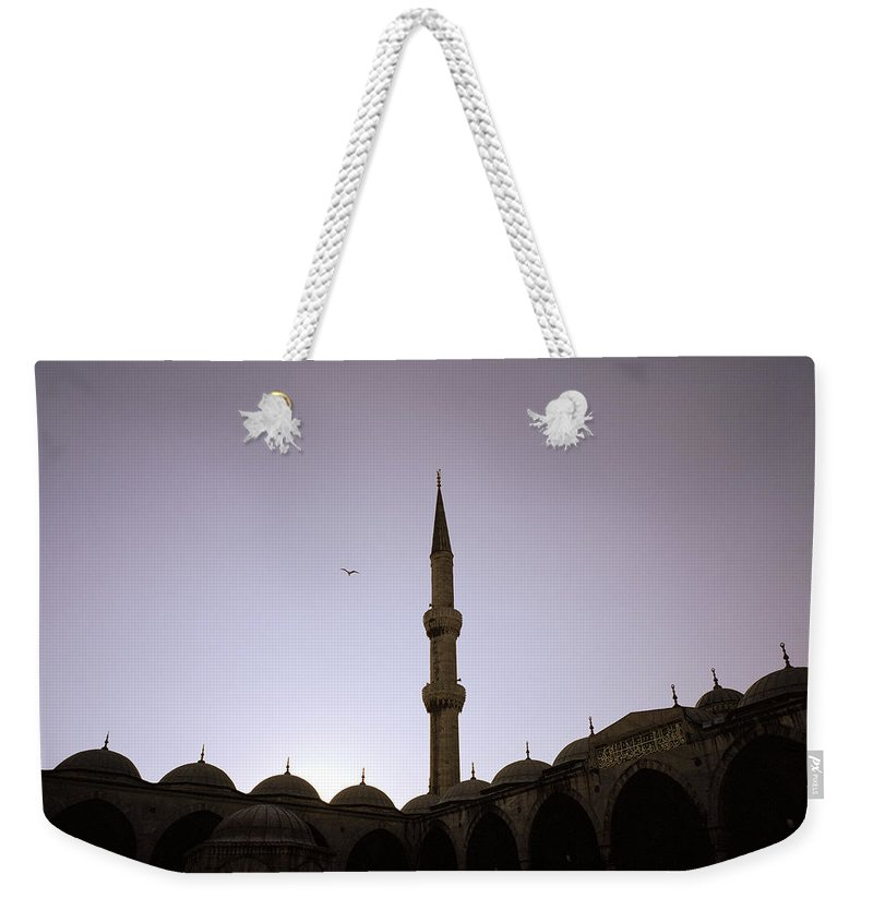 Serenity Weekender Tote Bag featuring the photograph Spiritual Serenity by Shaun Higson