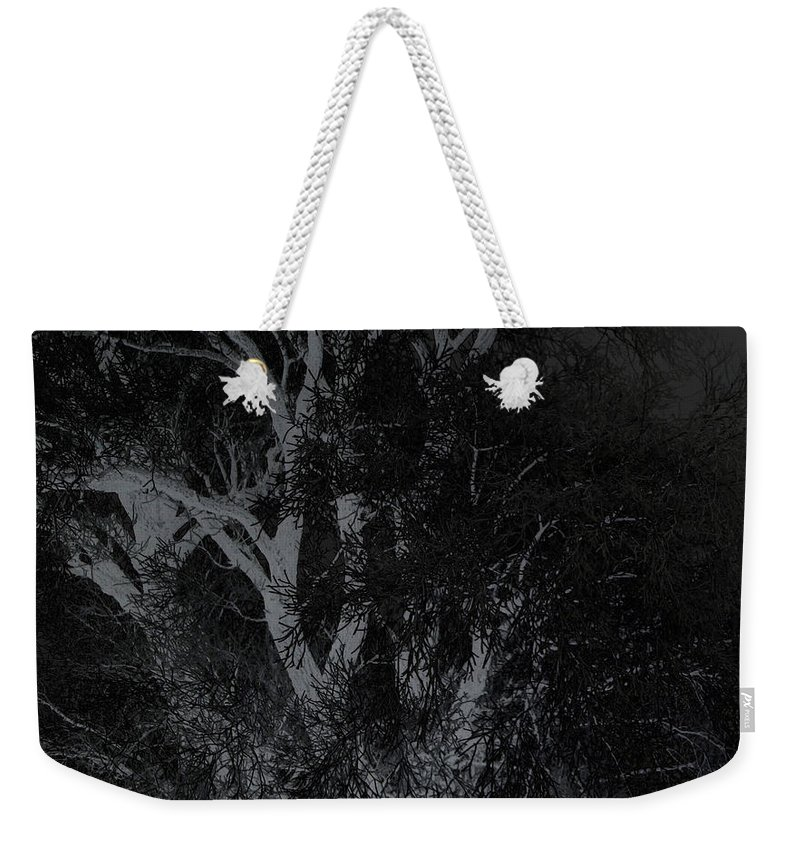 Tree Weekender Tote Bag featuring the photograph Twilight by Victoria Sanchez