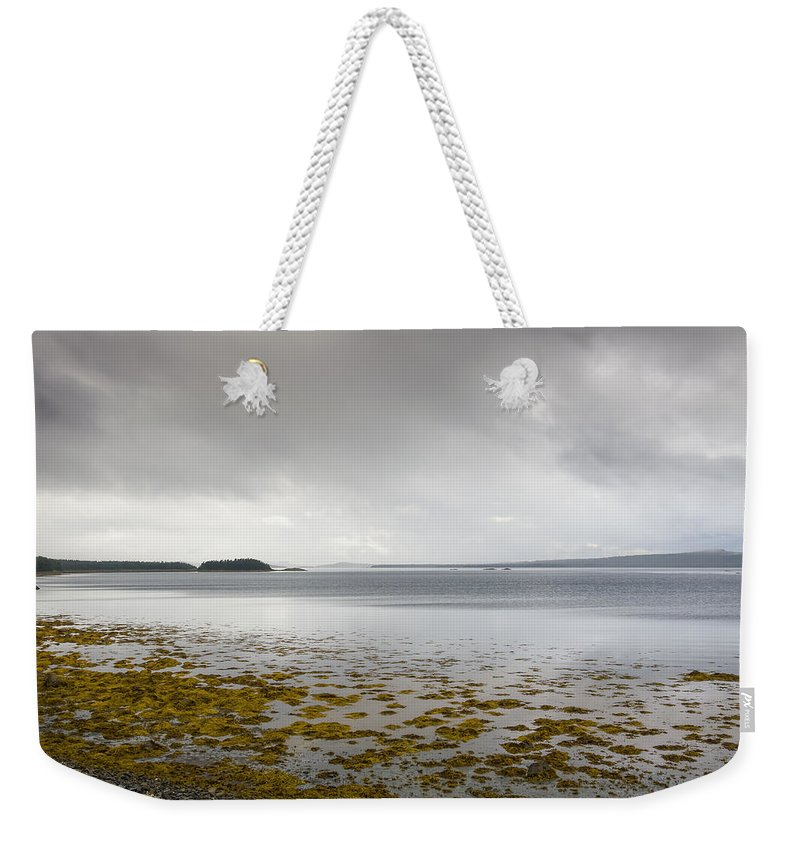 Newfoundland Weekender Tote Bag featuring the photograph Twillingate Bay by David Stone