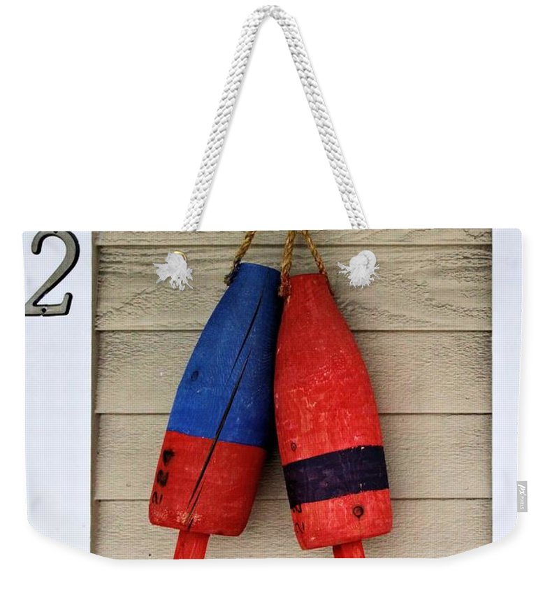 2 Weekender Tote Bag featuring the photograph Two by Robert McCulloch