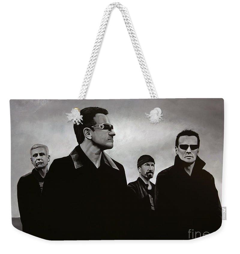 U2 Weekender Tote Bags