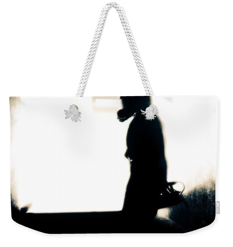 Underground Weekender Tote Bag featuring the digital art Underground by Bob Orsillo