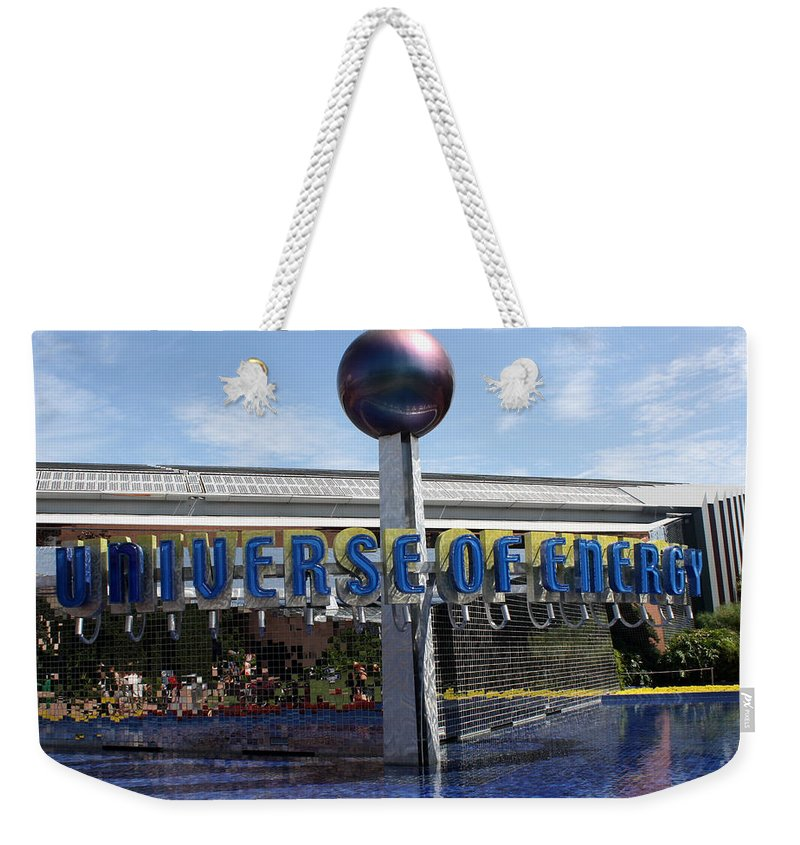 Walt Disney Weekender Tote Bag featuring the photograph Universe Of Energy by David Nicholls