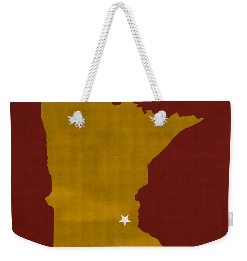 University Of Minnesota Weekender Tote Bags