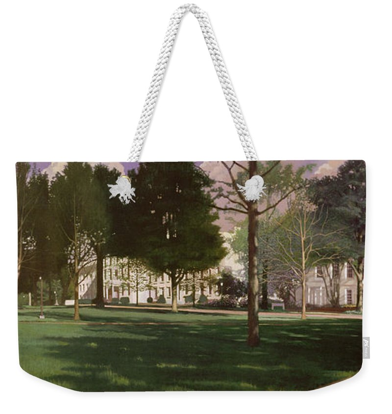University Of South Carolina Horseshoe 1984 Weekender Tote Bag For