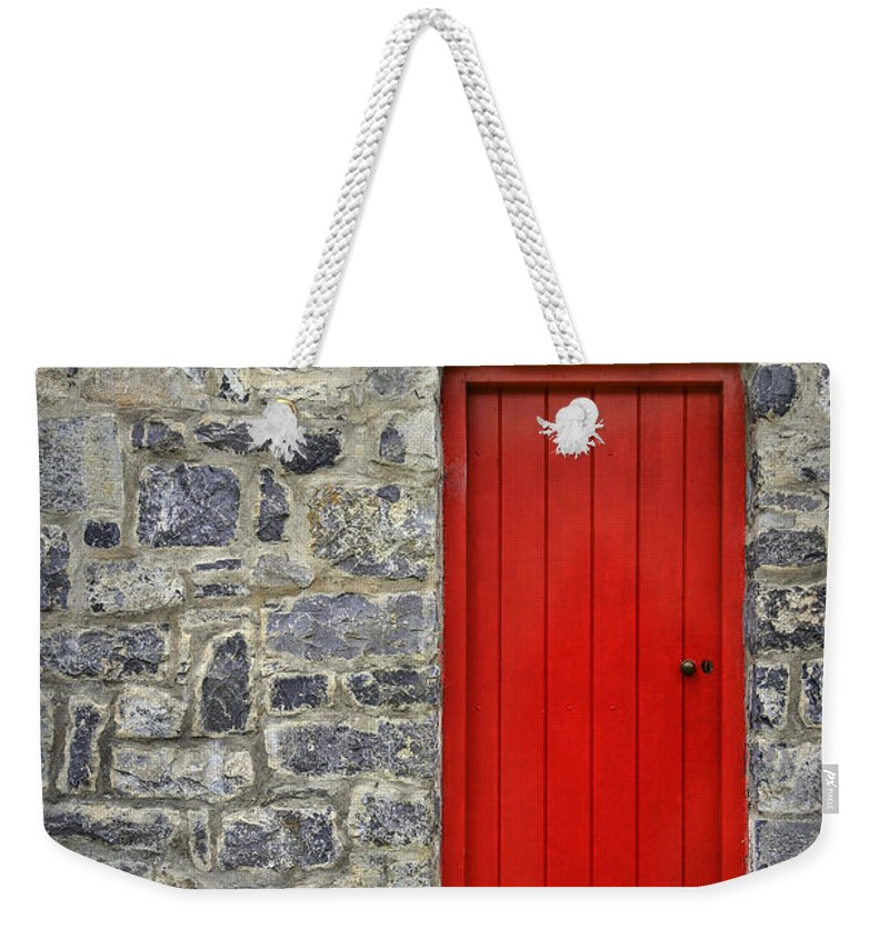 Bunratty Weekender Tote Bag featuring the photograph Unlock The Door by Evelina Kremsdorf