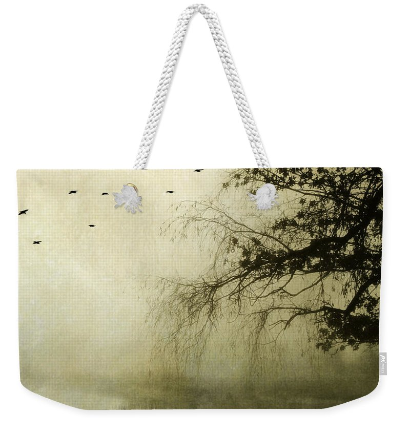 Tree Weekender Tote Bag featuring the photograph Unspoken by Karen Lynch