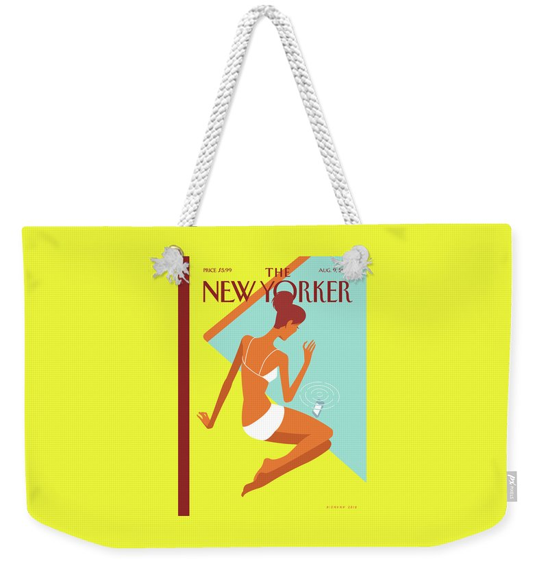 Dropped Call Weekender Tote Bag