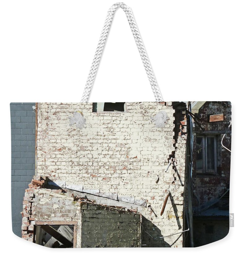 Earthquake Weekender Tote Bag featuring the photograph Unzipped by Steve Taylor
