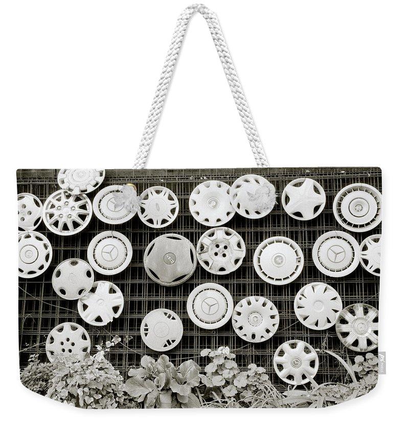 Art Weekender Tote Bag featuring the photograph Urban Art by Shaun Higson